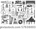 Musical instruments, music sound equipment 57636003