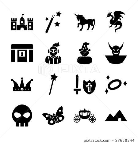 fantasy solid icon 57638544
