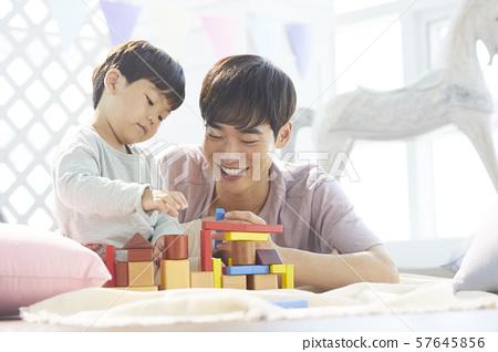 부모와 자식 라이프 스타일 장난감 57645856