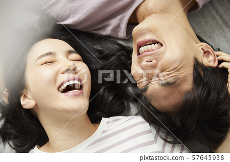 Couple lifestyle bedroom 57645938