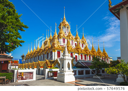 Wat Ratchanatdaram, Loha Prasat Temple at Bangkok, 57649576