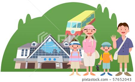 家庭旅行高尾山 57652043