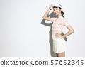 網球服女人 57652345