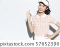 網球服女人 57652390
