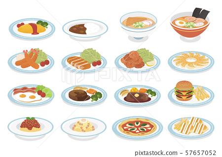 各種菜餚 57657052