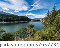 Lago di Paneveggio - Lake with dam - Trentino Alto Adige Italy 57657784