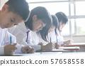 学习班级场景初中和高中学生的形象 57658558