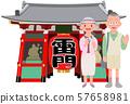 수석 여행 센소지 카미나리몬 57658981