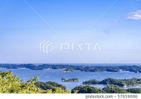 View of Matsushima Bay from Toyama Kannon-do 57659006