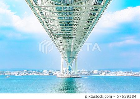 Akashi Kaikyo Bridge 57659384