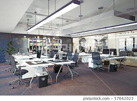 modern office interior, 57662023