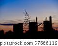 New city silhouette 57666119