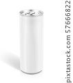 tin can for drink beverage product design mock-up 57666822
