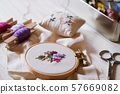刺繡工藝品 57669082