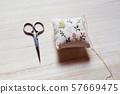 剪刀和Hariyama工藝品 57669475