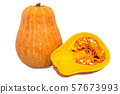 Squash 3d rendering with realistic texture 57673993