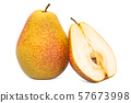 Pear 3d rendering with realistic texture 57673998