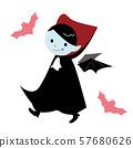 Halloween vampire 57680626