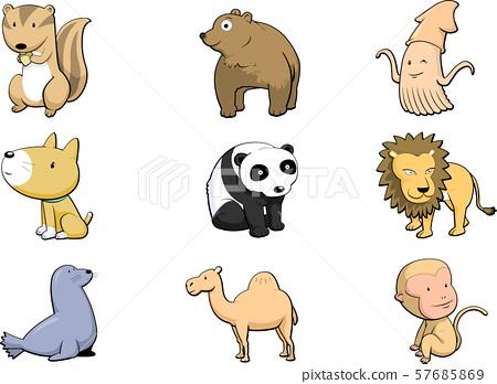 動物和動物 57685869