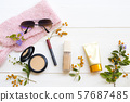 cosmetics beauty makeup for skin face of lifestyle woman 57687485