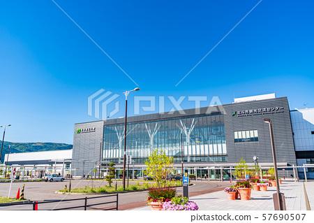北海道新干线新函馆北斗站周围的风景 57690507