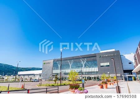 北海道新干线新函馆北斗站周围的风景 57690508