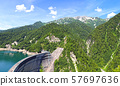 [Tourist attractions in Toyama Prefecture] Japan's largest Kurobe Dam 57697636