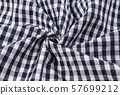 black and white fabric texture 57699212