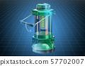 model of Portable LED Camping Lantern Flashlight 57702007