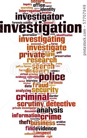 Investigation word cloud 57707849
