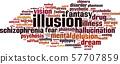 Illusion word cloud 57707859