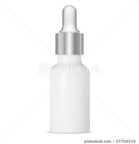 Dropper Bottle. Cosmetic Serum Vial. Liquid Aroma 57708539