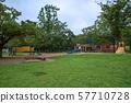 Iwatsuki Castle Park, children's playground equipment, Saitama City 57710728