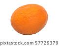 Mandarin close-up 3d rendering 57729379