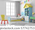 Children bedroom 3d render 57742753