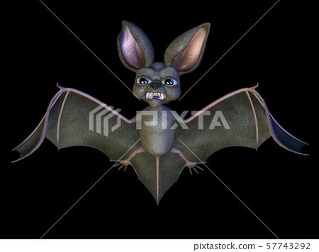 Halloween bat 57743292