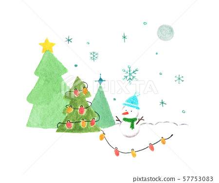 雪人的聖誕節 57753083