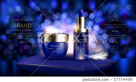 Night cosmetic series for face skin care 57754490