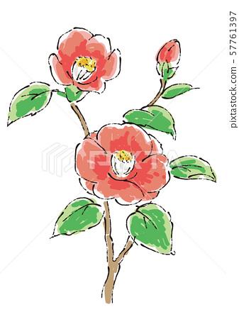 四個季節花 57761397