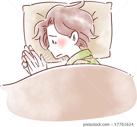 失眠的女人 57761624