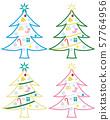 크리스마스 트리 세트 57764956