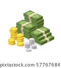 Money vector design background 57767684