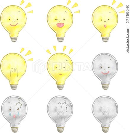 燈泡套裝材料 57769640