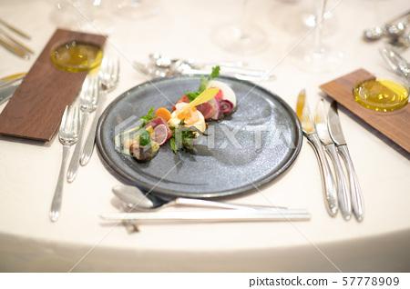 Dinner meal 57778909