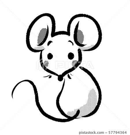 可愛 鼠標 老鼠 57794364