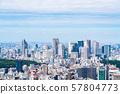 【도쿄】 도시 풍경 57804773