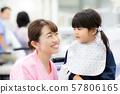 치과 위생사 씨와 아이 57806165