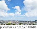 Urban landscape Fukuoka city 57810684