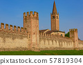 The city walls of Montagnana 57819304