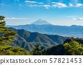 富士山景观全景升仙峡索道三岳升仙峡山顶,山梨富士山天文台 57821453